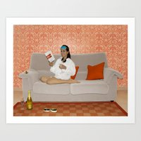 Holly, Breakfast At Tiff… Art Print