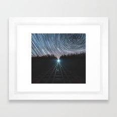 Railroad of Time Framed Art Print