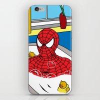 spiderman iPhone & iPod Skin
