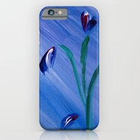 Flower on canvas iPhone 6 Slim Case
