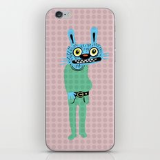 HIPSTER BUNNY iPhone & iPod Skin
