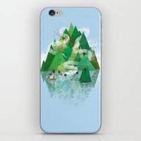 Mysterious Island iPhone & iPod Skin