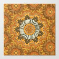 Twisted Rings Canvas Print
