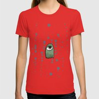 Im Poorly Womens Fitted Tee Red SMALL