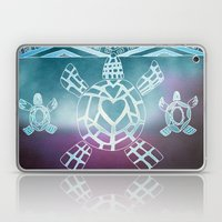 Tribal Sea Turtle Laptop & iPad Skin
