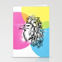 Handful Eagle Stationery Cards