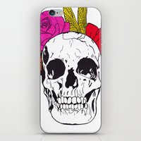 Skull I iPhone & iPod Skin