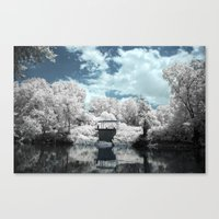 Green River | Infrared Canvas Print