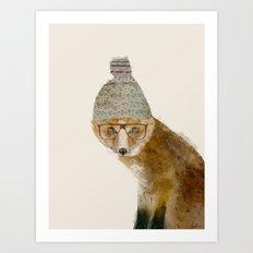 indy fox Art Print