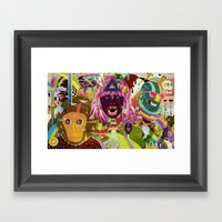 The Circus #02 Framed Art Print