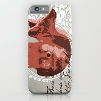 iPhone & iPod Case featuring Foxes Have Dens by Raquel Serene