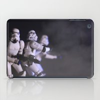 Only Imperial Stormtroopers are so precise iPad Case