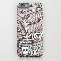 iPhone & iPod Case featuring Hirsute by Exit Man
