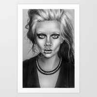 + SEA OF SORROW + Art Print