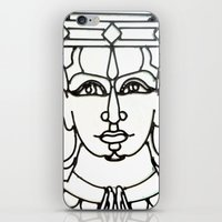 Wrought Iron Face Detail… iPhone & iPod Skin