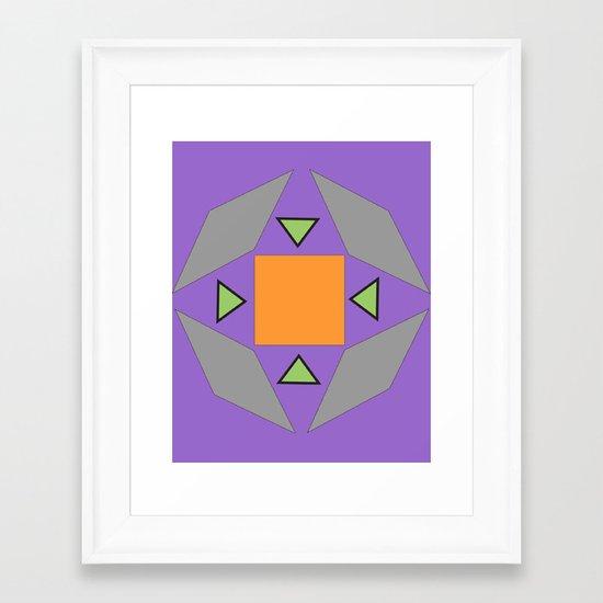 Sphere 5 Framed Art Print
