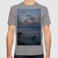 CoffsHarbour Mens Fitted Tee Athletic Grey SMALL