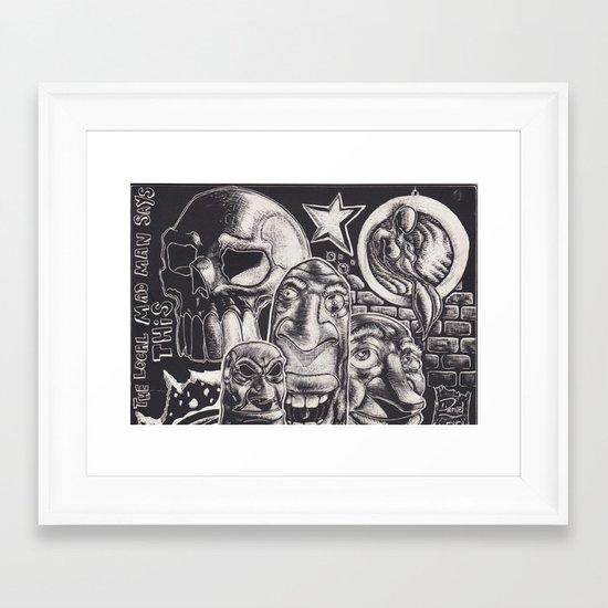 Local Framed Art Print