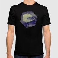 Blue Mountains Mens Fitted Tee Black SMALL