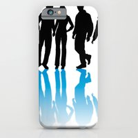 iPhone & iPod Case featuring Party Group by Hahn Pampas