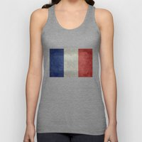 The National Flag of France Unisex Tank Top