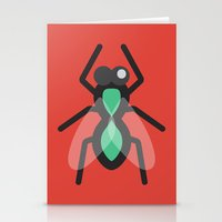 No Flies On Me Stationery Cards