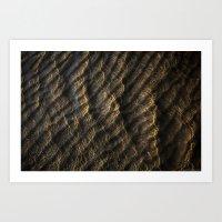 Ripples On The Sand Art Print