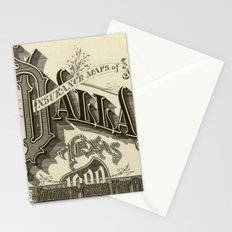 vintage typography Stationery Cards
