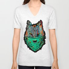 Wolf Mother - Screen Print Edition  Unisex V-Neck