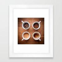 Coffee VI. Framed Art Print