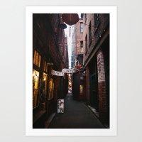 Alley Way Art Print