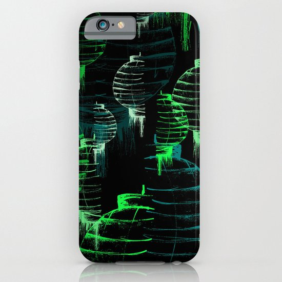Lantern - green iPhone & iPod Case