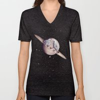 Space Sparrows Unisex V-Neck