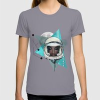 Need More Space Womens Fitted Tee Slate SMALL