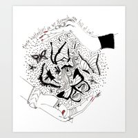 You Are Full Of... Art Print