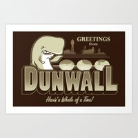 Greetings from Dunwall Art Print