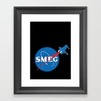 SMEG Framed Art Print