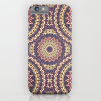 iPhone Cases featuring Mandala 113 by Patterns of Life