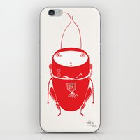 Red Cricket iPhone & iPod Skin