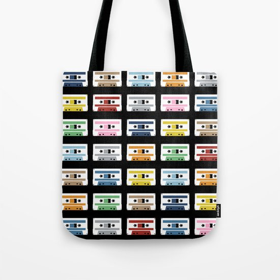 Rainbow Tapes Tote Bag