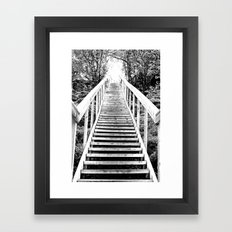 Only Way is Up  Framed Art Print