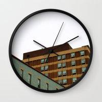 Sunday Symmetry Wall Clock