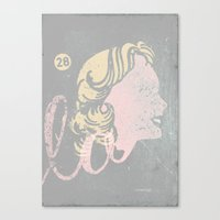 La Head Canvas Print