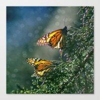 Monarch Moment Canvas Print