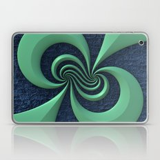 Green on Blue Laptop & iPad Skin