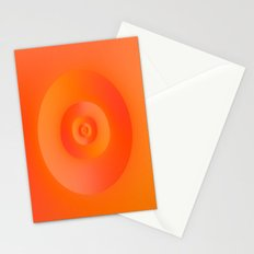 Flip in Orange and Red Stationery Cards
