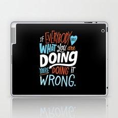 Doing it Wrong Laptop & iPad Skin