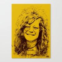 27 Club - Joplin Canvas Print