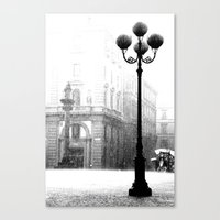 Florence in the Spring Rain Canvas Print