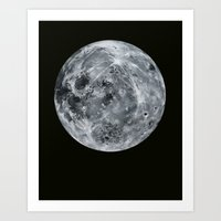 Luna Eastview Art Print